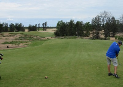 Sand Valley Golf Resort Hole 3 Tee