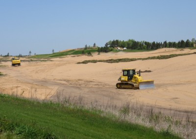 Sand Valley Golf Resort Hole 7 Construction