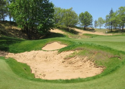 Sand Valley Golf Resort Hole 9 Bunker