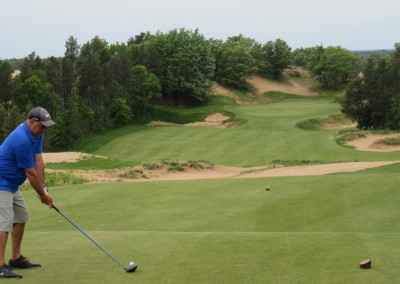 Sand Valley Golf Resort Hole 9 Tee