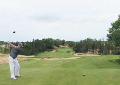 Sand Valley Golf Resort Hole 9 Tee Jason