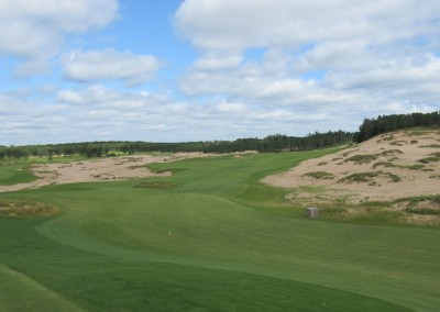 Sand Valley Golf Resort Mammoth Dunes Course Hole 1 Tee