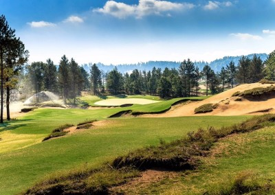 Sand Valley Golf Resort Mammoth Dunes Course Hole 16 STOCK