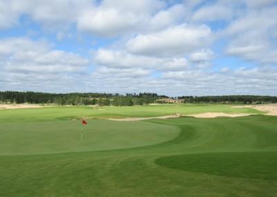 Sand Valley Golf Resort Mammoth Dunes Course Hole 18 Green