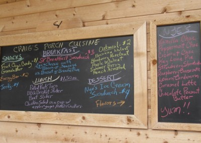 Sand Valley Golf Resort Sand Valley Course Craig's Porch Cuisine