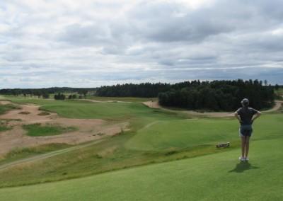 Sand Valley Golf Resort Sand Valley Course Hole 1 Tee Rachel