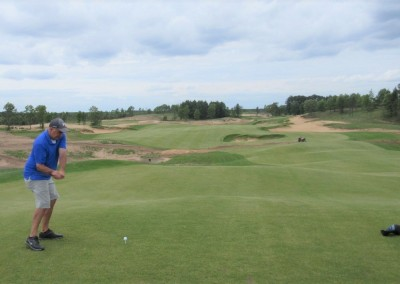 Sand Valley Golf Resort Sand Valley Course Hole 2 Tee Weis