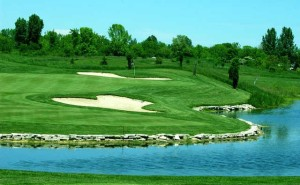 Fire Ridge Golf Club Stock Image