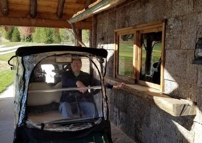 Buffalo Ridge Hole 5 Drive Up Cart Stand
