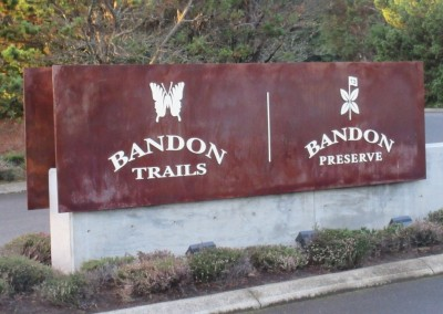 Bandon Trails Sign