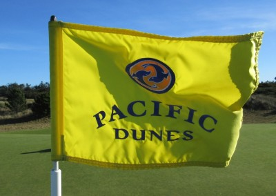 Pacific Dunes Hole 13 Flag