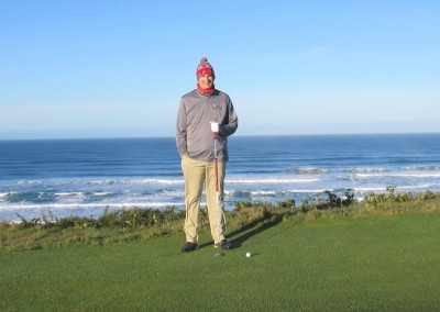 Pacific Dunes Hole 4 Greenside